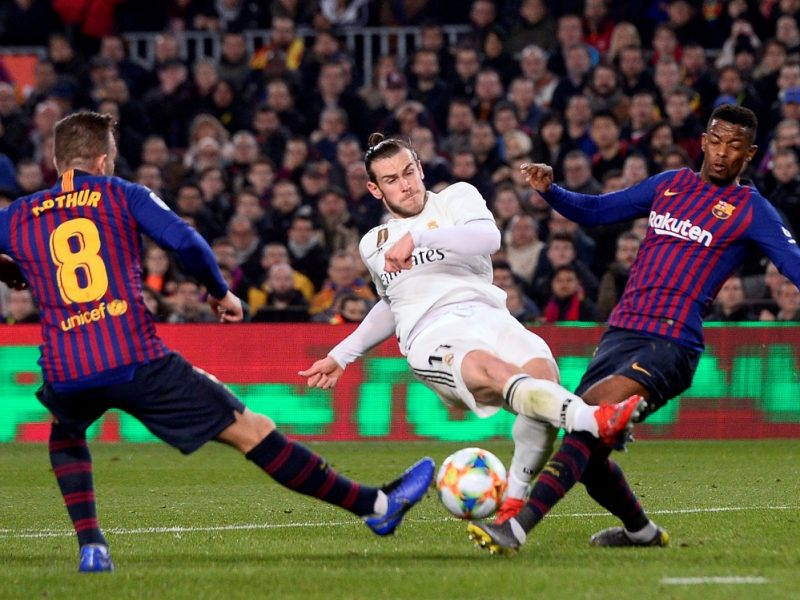 BARCELONA Y REAL MADRID IGUALARON 1-1