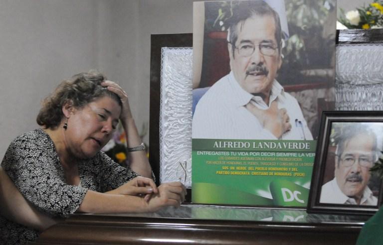 El diciembre se cumplen ocho años del asesinato de Alfredo Landaverde y su esposa lamenta no haya captura de hechores intelectuales