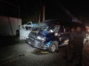 Dos muertos y varios heridos en accidente vehicular en el norte de Honduras