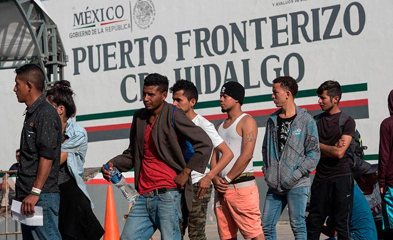 México reinicia entrega de visas humanitarias a migrantes de Centroamérica