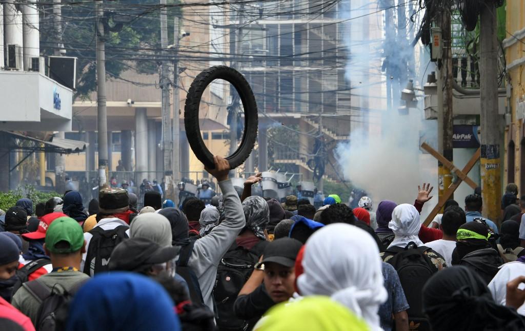Empresa privada lamenta las protestas violentas y señala no es augurio para mejorar la inversión nacional y extranjera