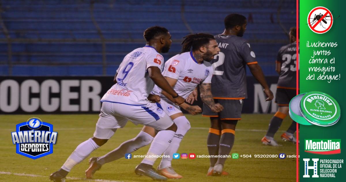 Olimpia clasifica a cuartos de final de Concacaf tras golear al Forge FC
