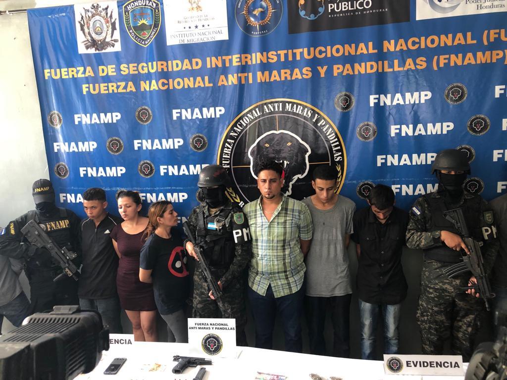 La FNAMP ha dado captura a 15 supuestos miembros de estructuras criminales en SPS