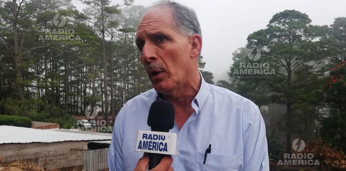 """Alcalde Asfura dice no puede """"soltarse""""el agua de las represas y por ende seguirán los racionamientos"""