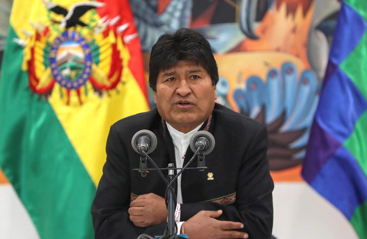 Helicóptero del presidente Evo Morales aterriza de emergencia por falla mecánica (Vídeo)