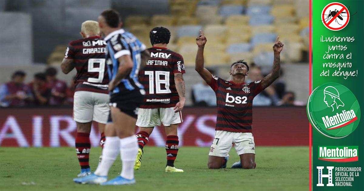 Flamengo jugará la final de la Copa Libertadores con River tras golear a Gremio en el Maracaná