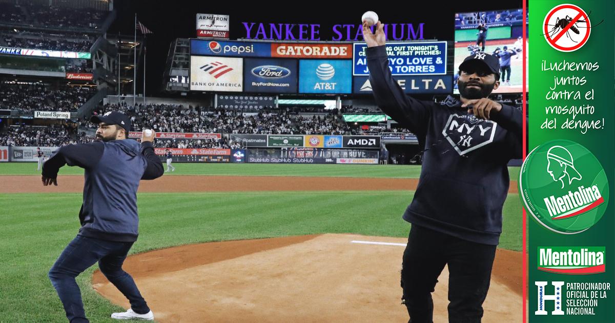 Yanquis honran a hombres que salvaron a niña de las vías del tren en el Bronx