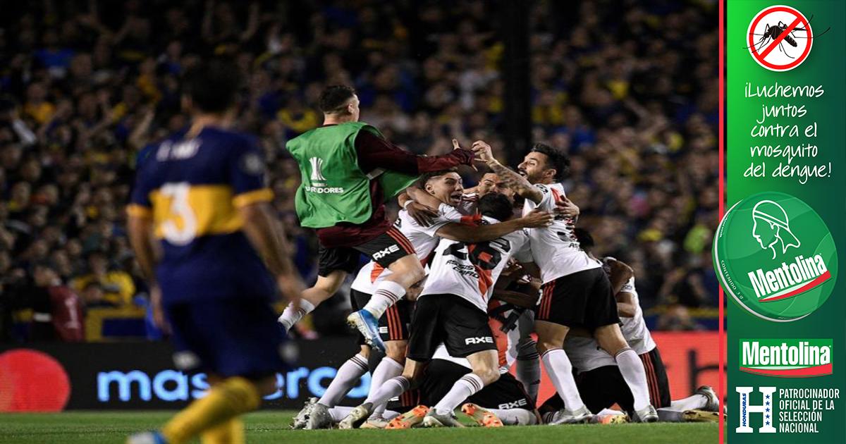 River Plate le propina otro duro golpe a Boca y se clasifica para la final