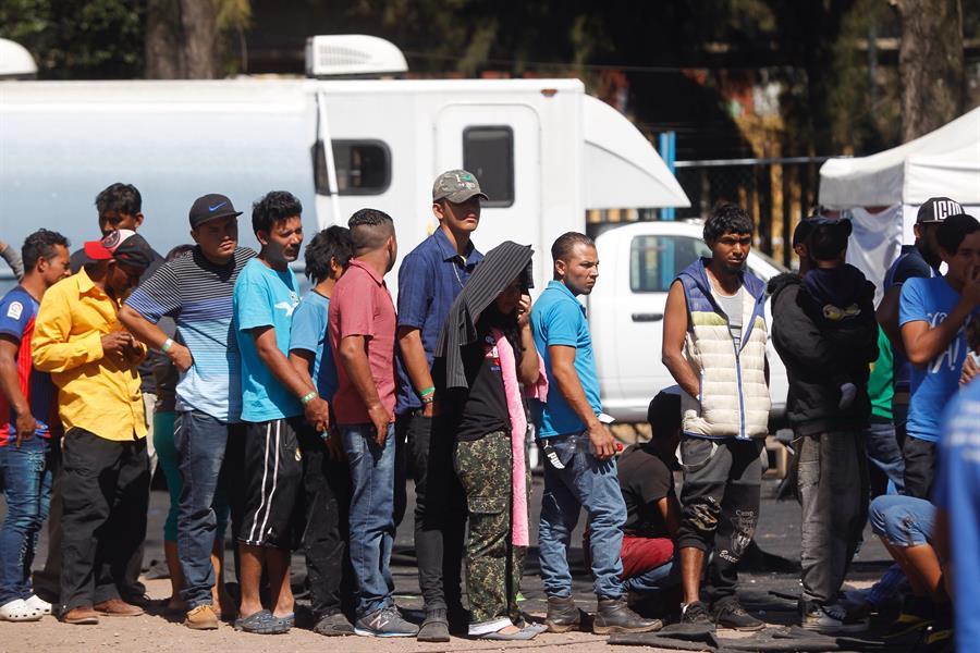Acnur: 76,1 % de los migrantes de Centroamérica dejaron su país por violencia
