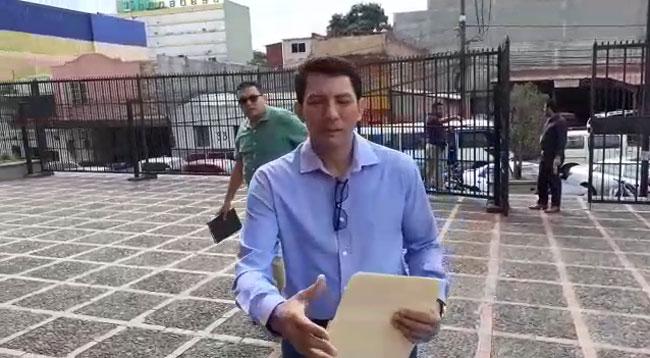 Miguel Aguilar querellará a José Luis Matamoros por señalarle acusación de lavado de activos