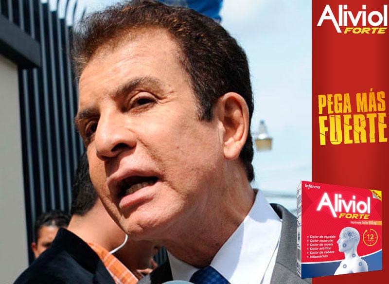 """Salvador Nasralla """"no cumple requisitos"""" para candidato del Partido Liberal: Luis Zelaya"""