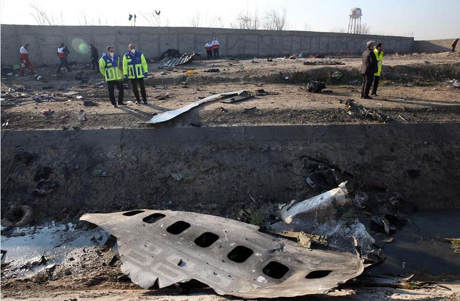 Resultado de imagen de Irán: La caja negra del avión ucraniano derribado en enero está dañada