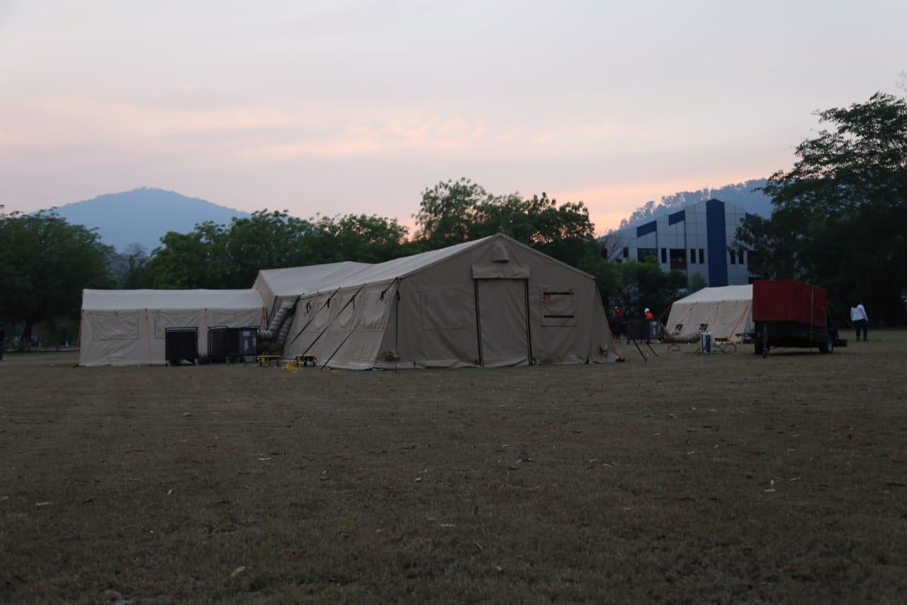 Instalarán un laboratorio de virología en Copán y esperan llegada de hospital móvil para atender pacientes con Covid-19