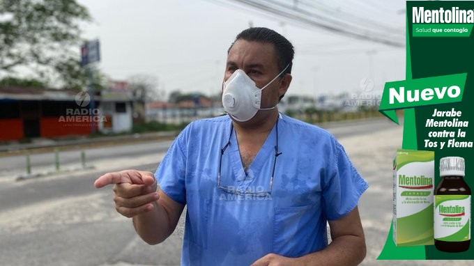 Carlos Umaña asegura en hospitales privados ya no hay cupo para atender pacientes COVID-19