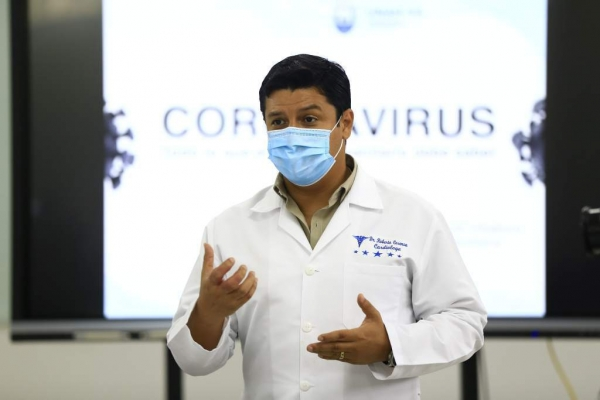 Viceministro Cosenza anuncia nuevo centro de triaje para descongestionar hospitales en SPS