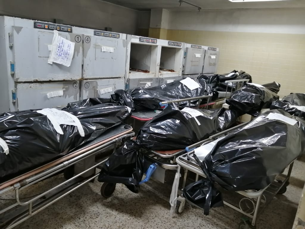 Yuri Mora: Medicina Forense no tiene nada que ver con cadáveres de personas fallecidas por COVID