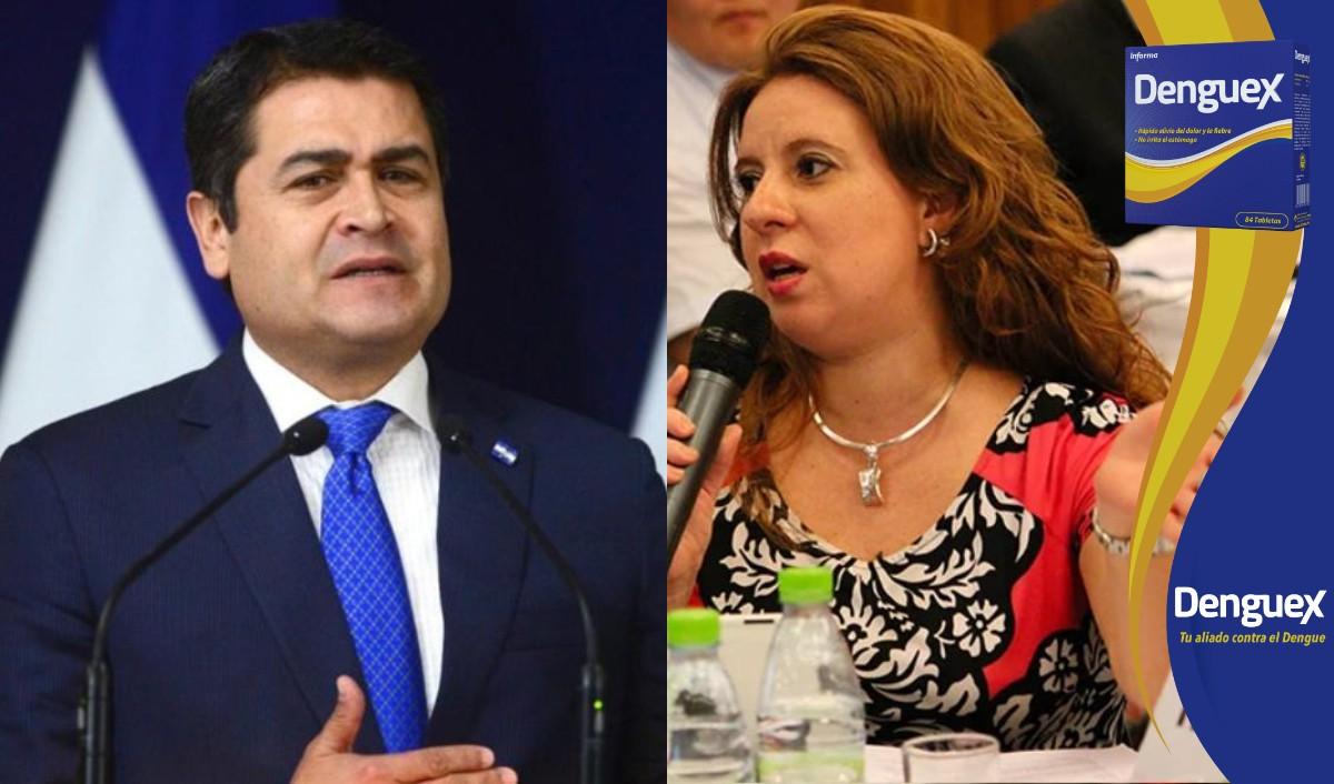 Presidente Hernández reconoce el nombramiento de Evelyn Bautista como directora de Invest-H