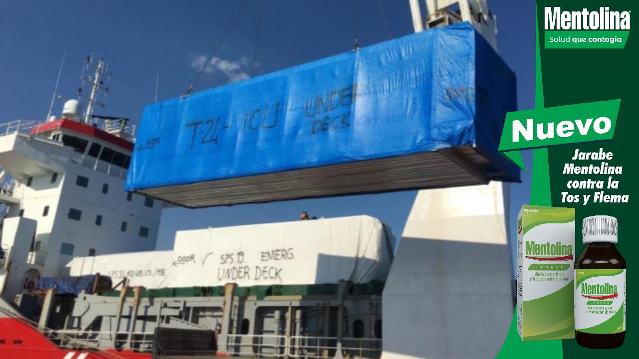 Autoridades de Salud confirman que hospitales móviles llegan a Puerto Cortés el 10 de julio