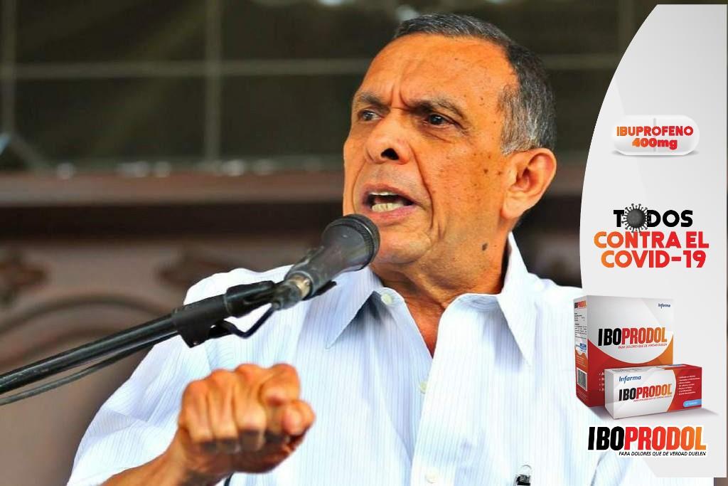 """""""Hay que ponerle fin a la mega corrupción; debemos unirnos para sacar a JOH"""": Porfirio Lobo"""