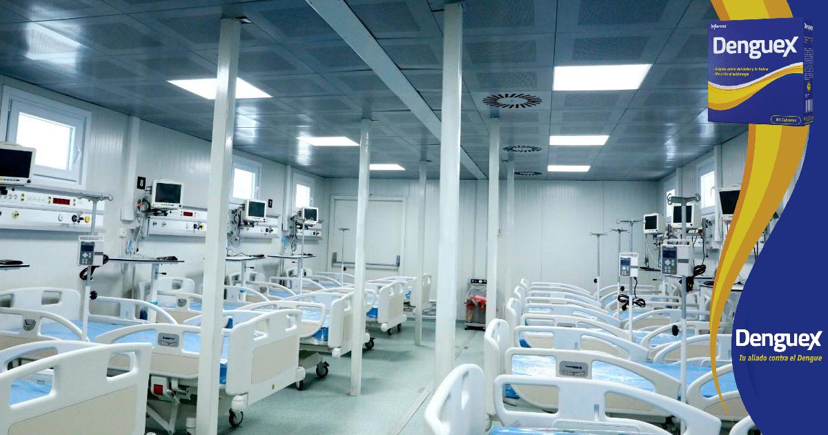 Autoridades anuncian en próximos días comenzarán a funcionar los hospitales móviles de San Pedro Sula y Tegucigalpa