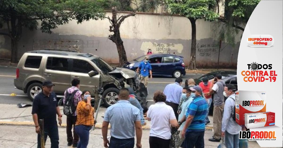 Dictan detención judicial al motorista que atropelló y provocó la muerte del fiscal Eblin Macías, cuando el ahora víctima salía de los juzgados frente al Ministerio Público en la capital Tegucigalpa.