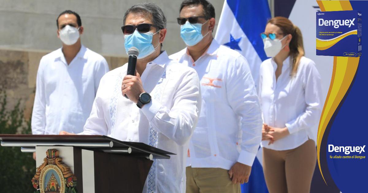 Presidente Hernández llama a los hondureños a participar en combate del COVID-19
