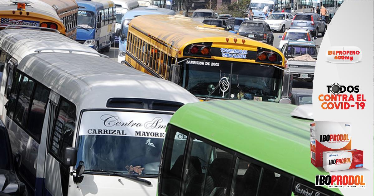 Solo el 20% de las rutas (buses) comenzarán pilotaje en Tegucigalpa, según transportista
