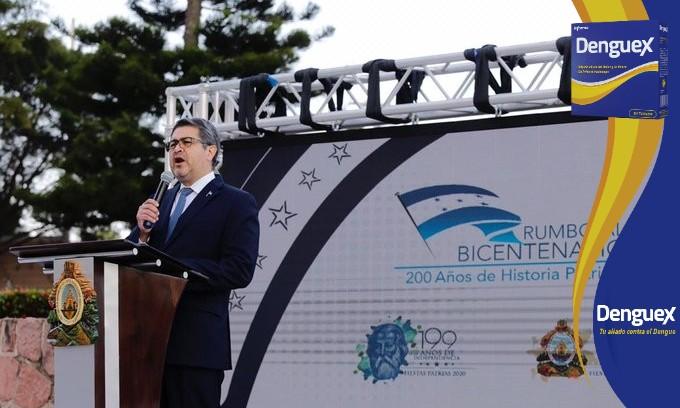 Presidente Hernández: Hoy quiero recordar y respetar la memoria de cada uno de los caídos por la pandemia