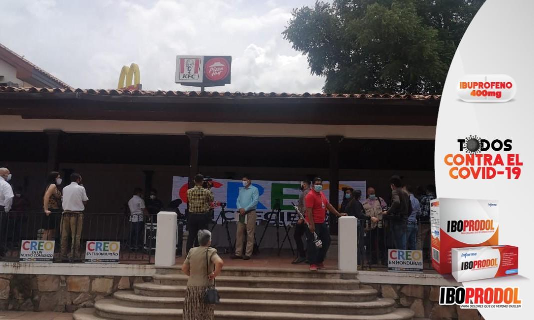"""Partidos emergentes forman coalición denominada """"CREO"""" de cara a próximas elecciones"""