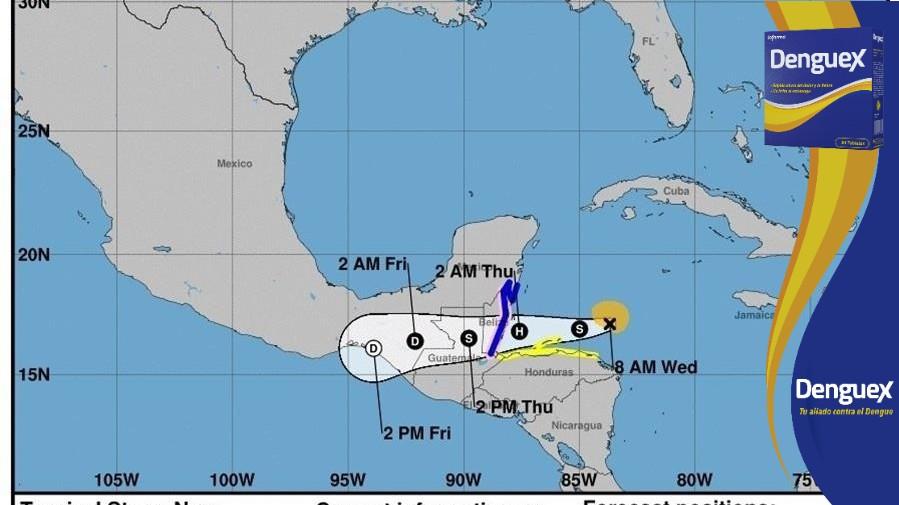 Belice se prepara ante llegada de Nana como huracán y alerta a la ciudadanía