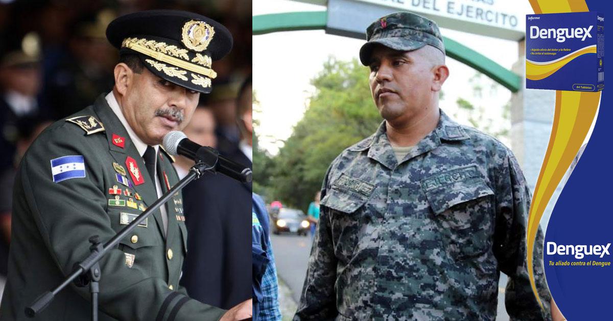 Excapitán Santos Orellana asegura que sus pruebas tienen sustento, por tano no conciliará con general Fredy Díaz