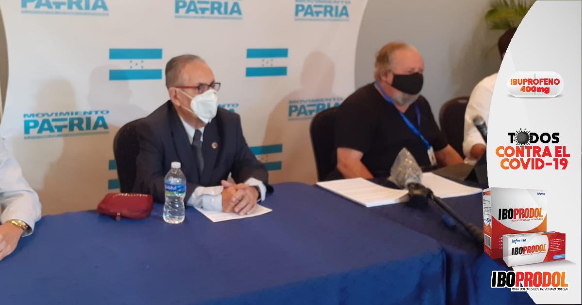 """Grupo de hondureños conforman el movimiento """"Patria"""" para buscar un mejor manejo de la pandemia del Covid-19"""