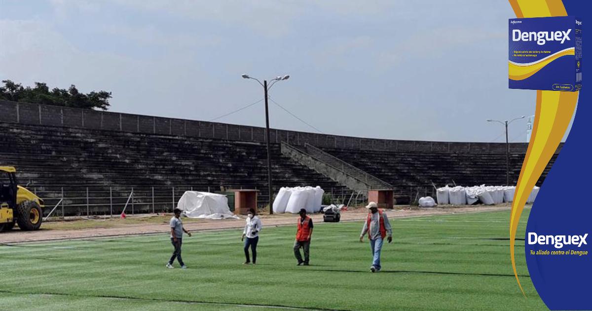 Remozan estadio Roberto Suazo Córdova que nunca ha tenido fútbol profesional