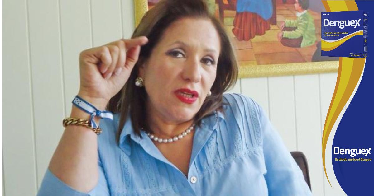"""Gladys Aurora: """"Me asombra que diputados digan que no votan por contratos leoninos, si son los que ha patrocinado la oposición"""""""