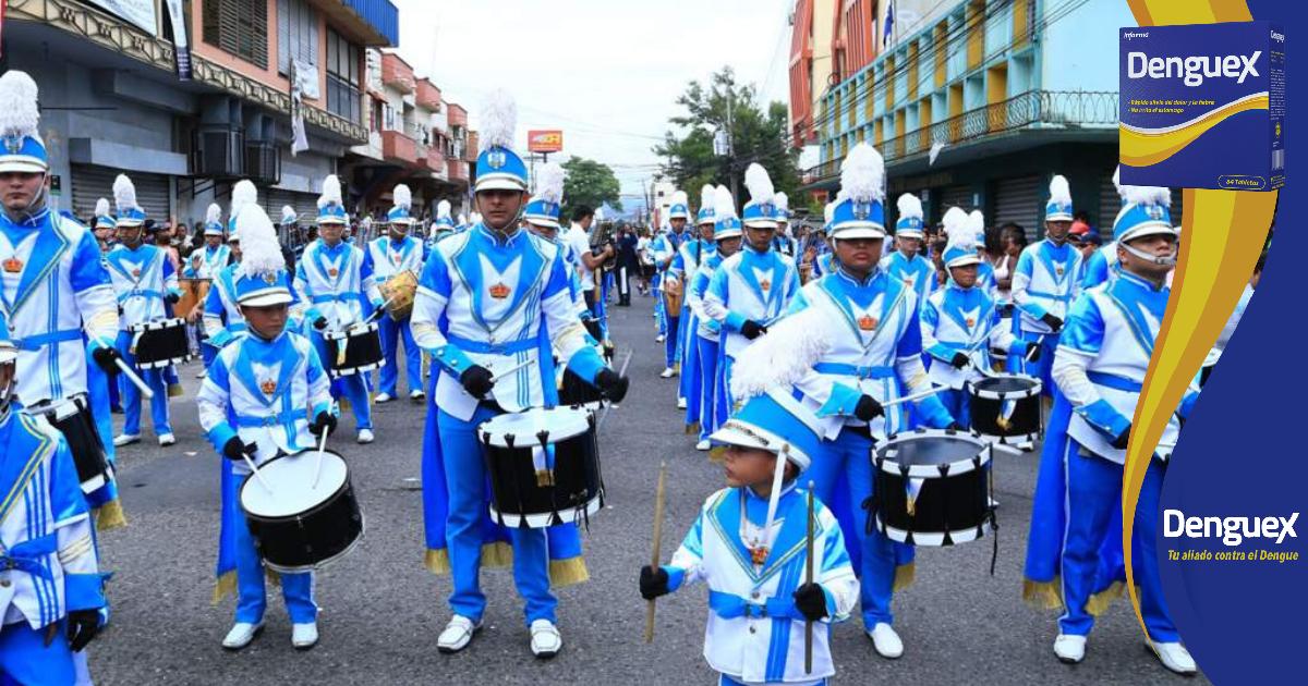 Al menos 60 centros educativos listos para desfilar virtualmente en Cortés, confirman autoridades