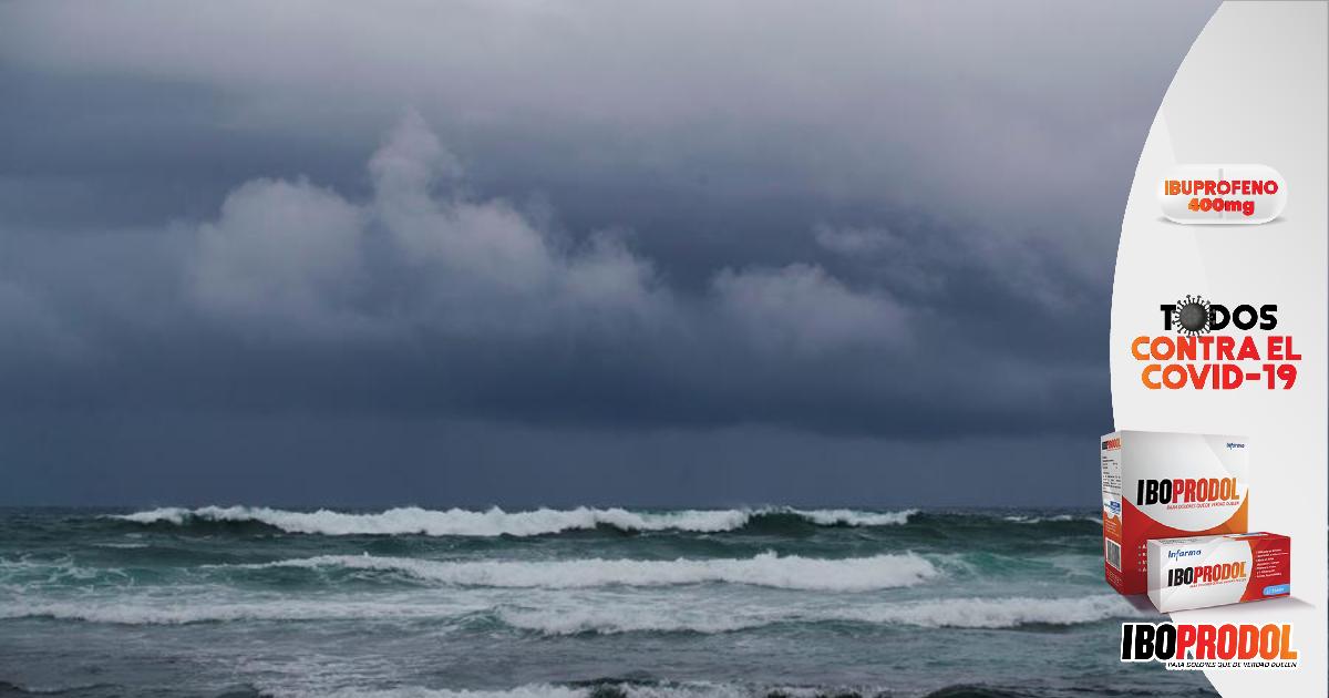 Por Tormenta Tropical Nana: Alerta Verde para siete departamentos del país