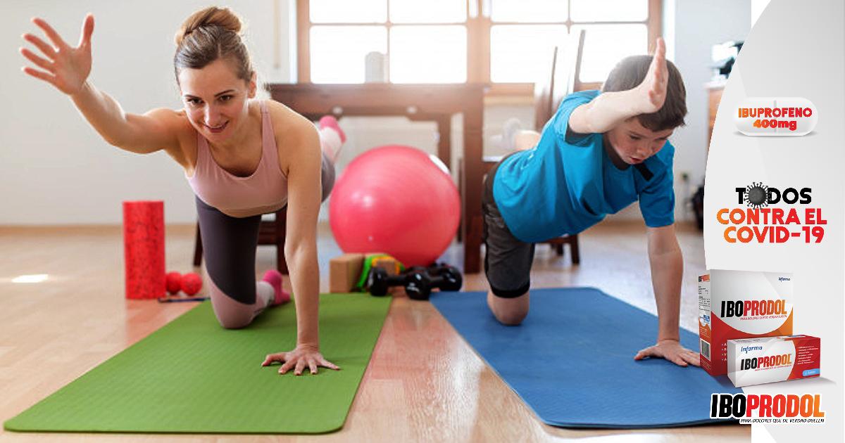 OMS recomienda 5 horas de ejercicio semanal, también durante confinamientos