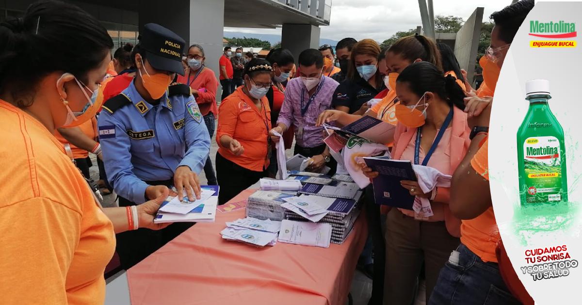 """Policía hondureña y otras instituciones celebran el """"Día Internacional para Eliminación de la Violencia contra la Mujer"""""""