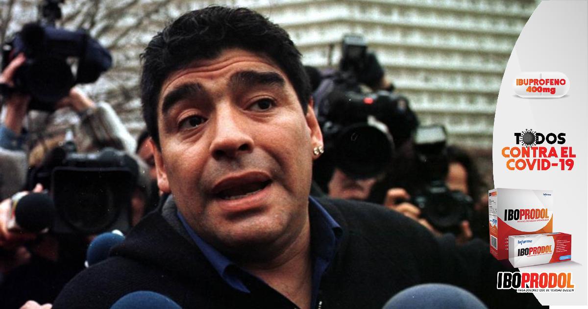 Un minuto de silencio en el fútbol de Honduras por muerte de Maradona