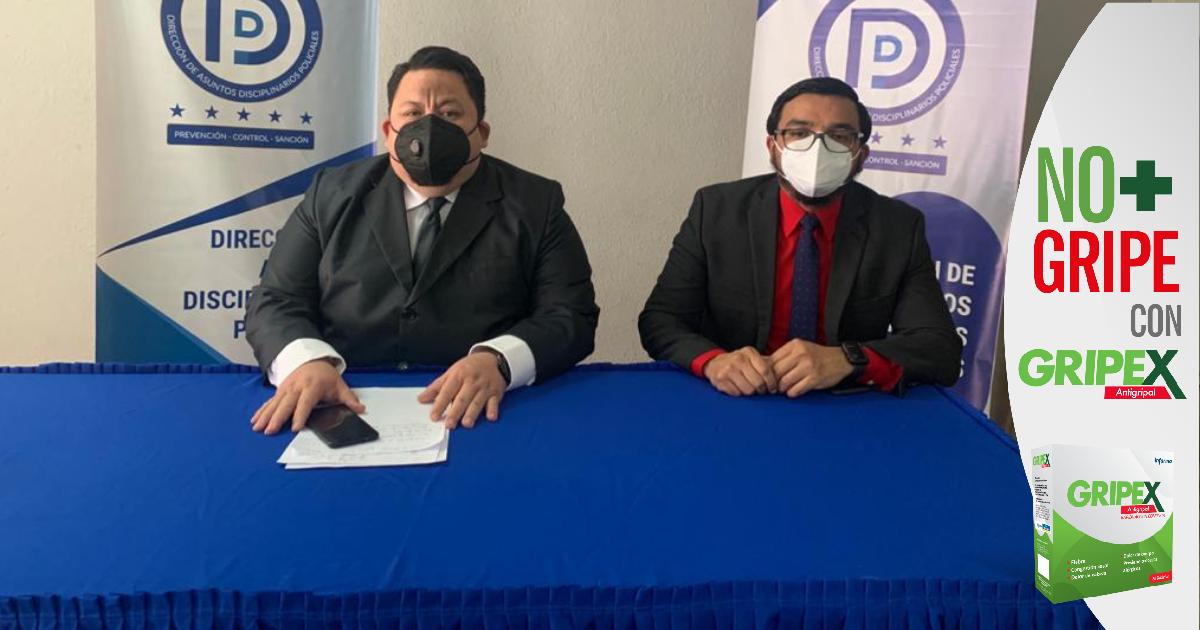 La Didadpol solicitará cancelación de agentes policiales capturados por varios delitos
