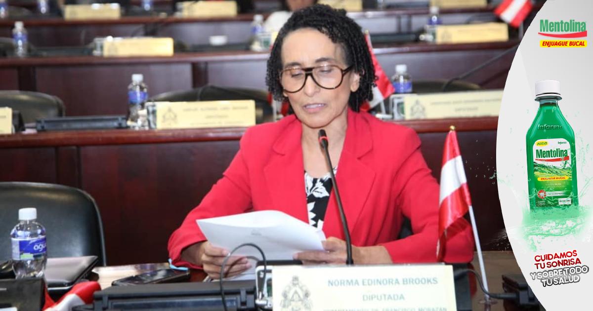 """Edinora Brooks pide transparencia en presupuesto de elecciones para darle """"tranquilidad"""" a los hondureños"""