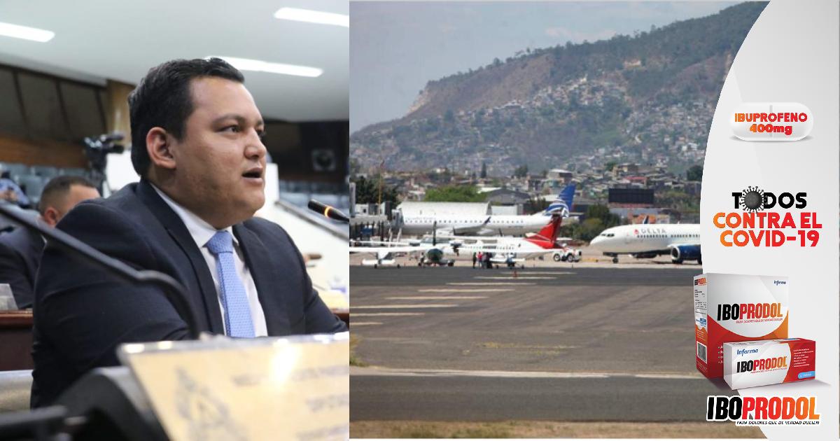 Diputado Samir Molina: Operatividad de vuelos internacionales en el Toncontín, dependerá del acuerdo entre la concesionaria y concedente
