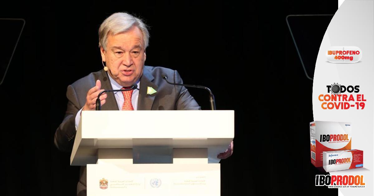 """Secretario General de la ONU: Centroamérica debe ser """"prioridad absoluta"""" ante cambio climático"""