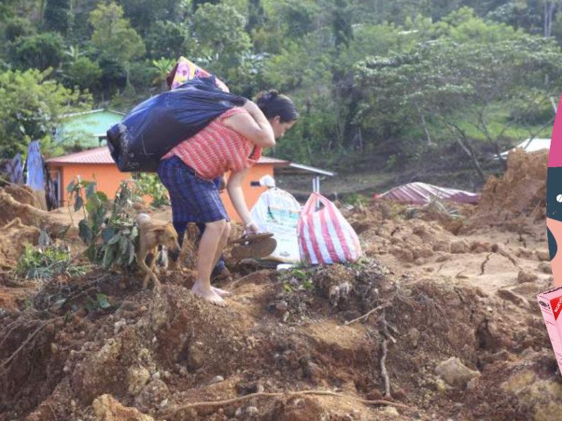 Habitantes de aldea La Reina soterrada por derrumbe no pueden creer qué pasó