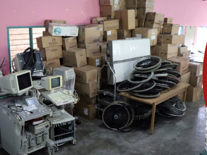 Bomberos canadienses envían a Honduras ayuda humanitaria para atención en servicios de salud