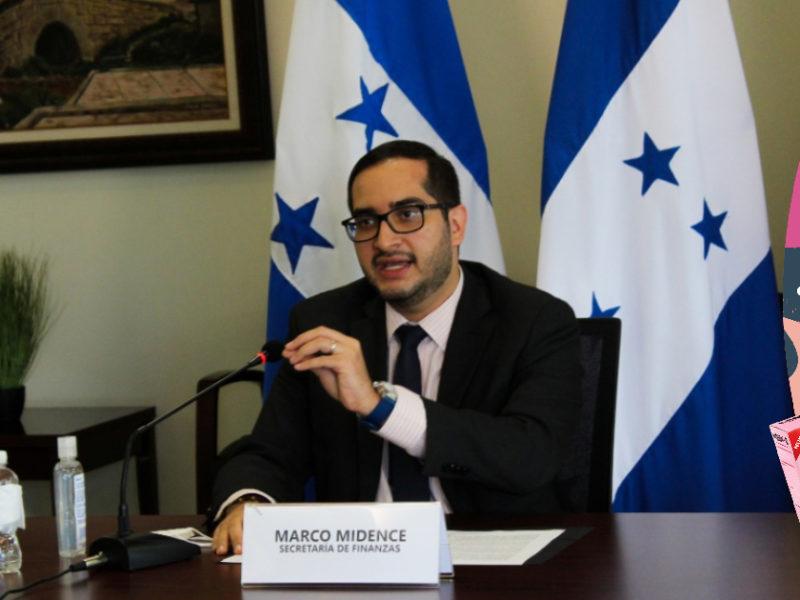 Ministro Marco Midence anuncia inversión social de 23 mil millones de lempiras en 2021