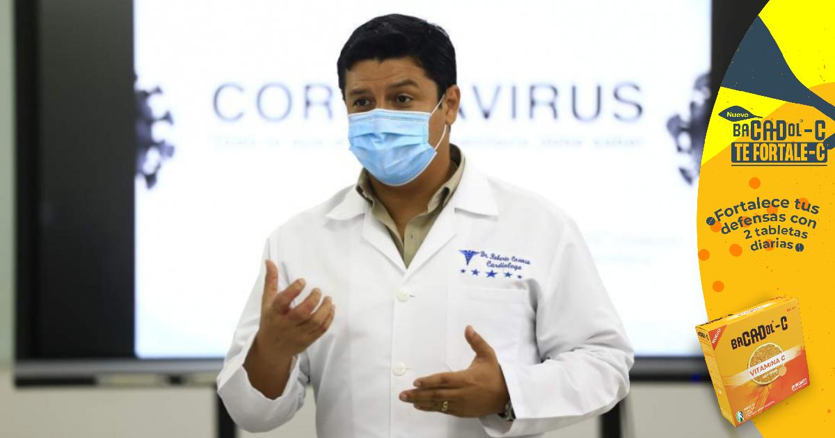 Viceministro Cosenza señala que la población económicamente activa será la mas beneficiada con vacunación anticovid-19