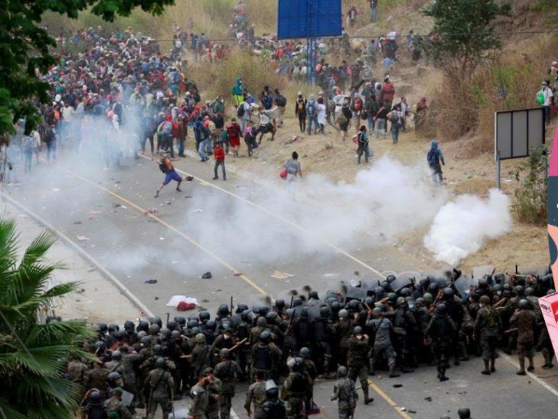 Preocupa a Médicos Sin Fronteras violencia contra migrantes hondureños en Guatemala