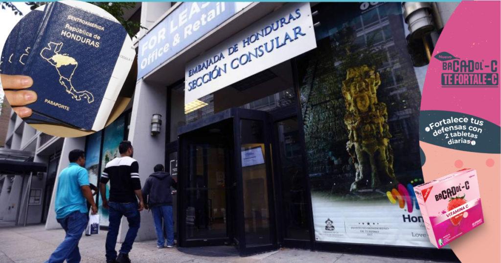 Compatriotas se reúnen con consulado hondureño en Atlanta para que investigue red de corrupción en torno a pasaportes