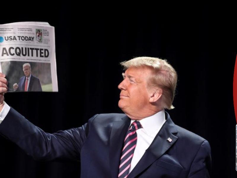 """Trump aplaude su absolución y avisa de que su movimiento """"acaba de empezar"""""""